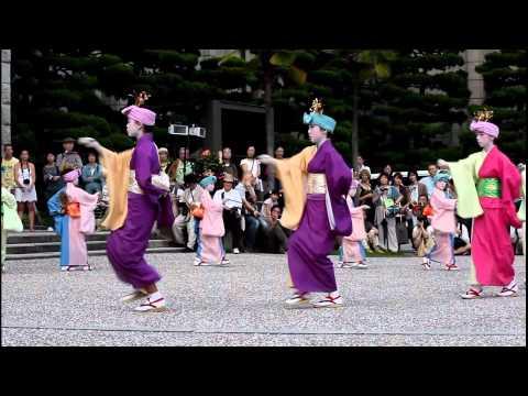 Gion Matsuri: Sagi Odori - Heron Dance 【HD】