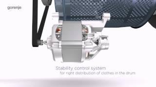 Стиральная машина GORENJE W72ZY2/R (+РЕЗ. RL95) от компании F-Mart - видео