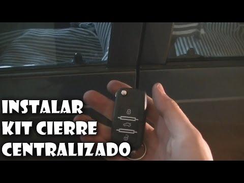 Instalar un kit de cierre centralizado en el coche