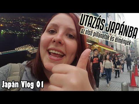Utazás Japánba! Első pillanatok, élmények, tapasztalatok ^^ ~ Japán Vlog 01 ~ Animológia letöltés