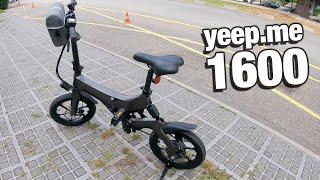 yeep.me 1600 un super vélo électrique de qualité