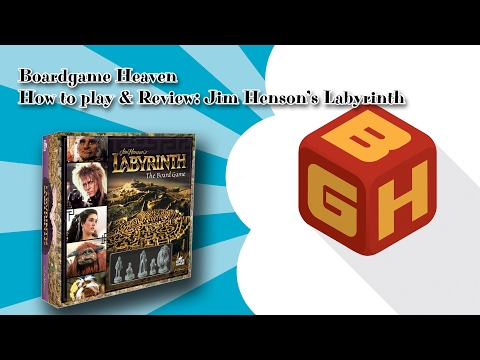Boardgame Heaven How To Play & Review: Jim Henson's Labyrinth