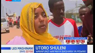Many students in Tana River drop out of school and go into business