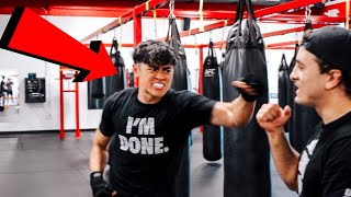 TRAINING FOR SOCIAL GLOVES YOUTUBE BOXING EVENT!