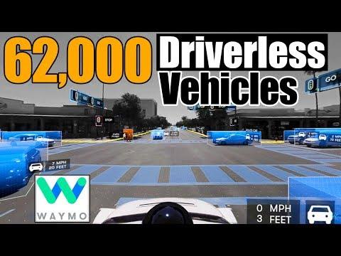 WAYMO Self-Driving Project | Chrysler Pacifica Hybrid Minivan | Kendall, FL