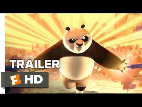 kung fu panda 3 official trailer 3 2016 jack black angelina