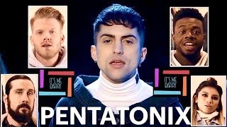 Pro Singer Can't Believe His Ears   PTX Bohemian Rhapsody   Pentatonix Reaction And Review