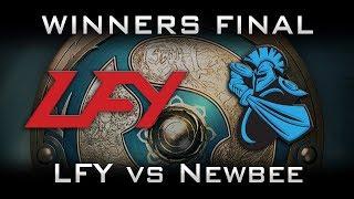 LFY vs Newbee TI7 Winners Final Highlights The International 2017 Dota 2