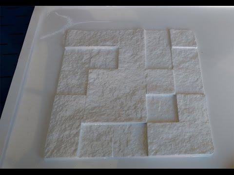 VACUUM FORMING VF 1000 REVESTIMENTO 3D PEDRAS