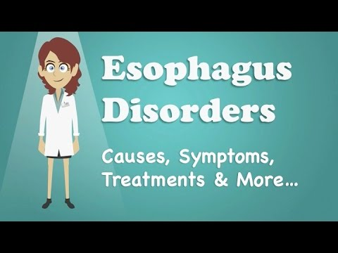 Video Esophagus Disorders - Causes, Symptoms, Treatments & More…