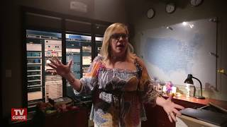 Kirsten Vangsness Takes Us on a Tour of the Criminal Minds Set