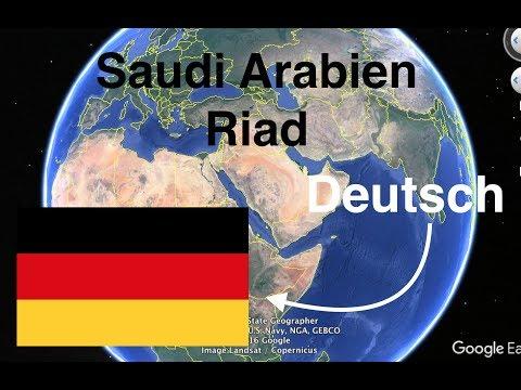 Lerne die Länder und Hauptstädte vom Nahen Osten