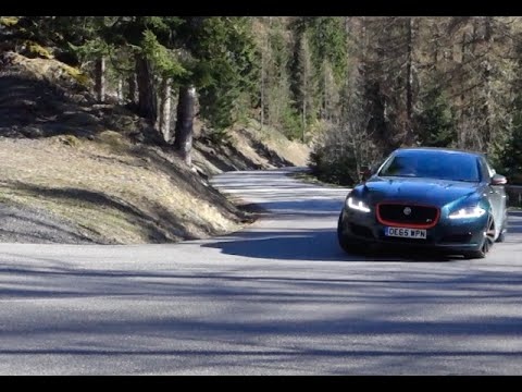 2016 Jaguar 550bhp XJR real world review