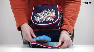 """Рюкзак дошкольный Kite Minnie Mouse MI18-535XXS от компании Интернет-магазин """"Радуга"""" - школьные рюкзаки, канцтовары, творчество - видео"""