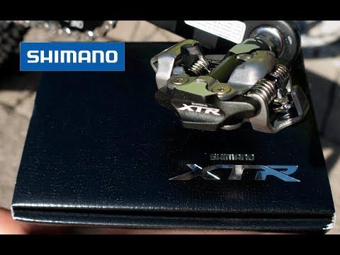 Shimano SPD Pedals - XTR M9000 Race vs XT M8000