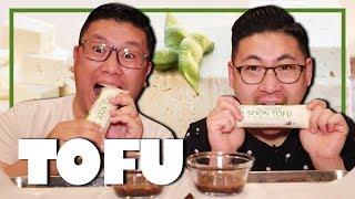 WHOLE SOFT TOFU SAVAGE EATING MUKBANG