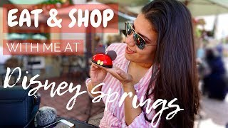 Eat & Shop With Me At Disney Springs