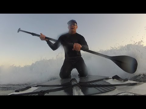 Paddle Board Unbox & Surfing Test Ride