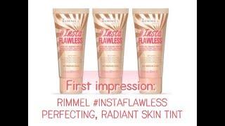 Rimmel #instaflawless primer review