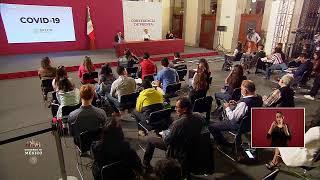 #ConferenciaDePrensa: #Coronavirus #COVID19 #QuédateEnCasaYa | 3 de abril de 2020