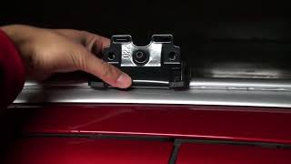 Mitsubishi Outlander - Thule WingBar (969) and Rapid System (753)