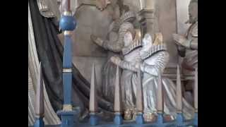 Monument for Mary Boleyn's grand-daughter at Bisham Parish Church