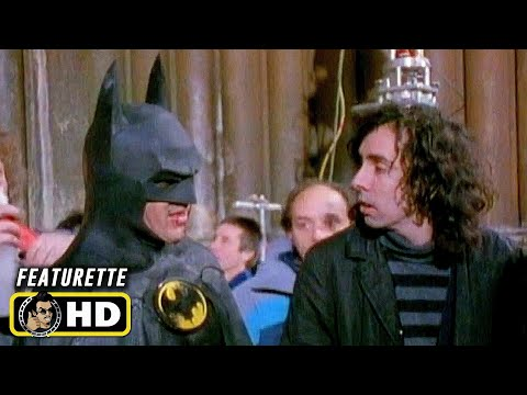 BATMAN (1989) Behind the Scenes [HD] Tim Burton, Michael Keaton
