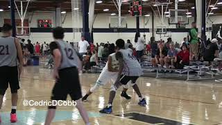 Isaiah Somers Highlights @ Pangos Summer Sweet Sixteen Tournament