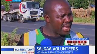Salgaa volunteers: Volunteers saving lives on the highway