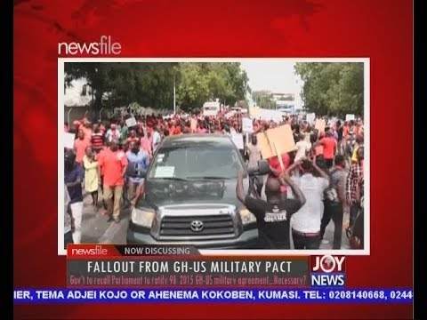 Fallout From GH-US Military Pact - Newsfile on JoyNews (31-3-18)