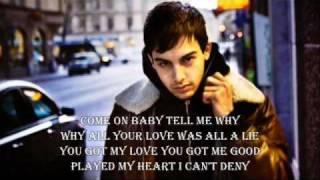 Darin-You don't hear me with lyrics