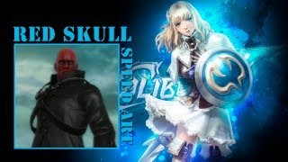 preview picture of video 'Soul Calibur V | Custom character: Red skull / Marvel'