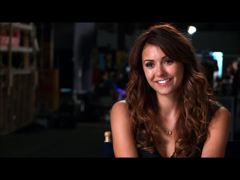 nina dobrev talks about dating costars