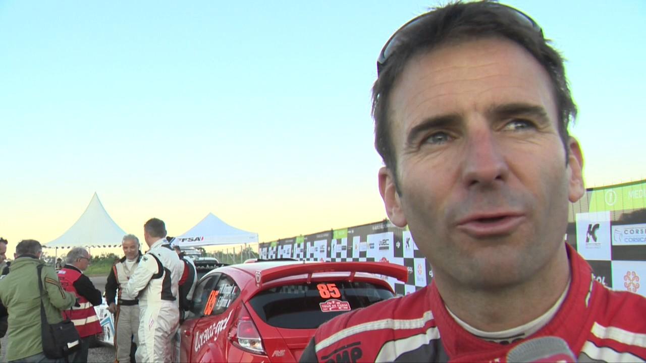 Tour de Corse : l'interview de Romain Dumas...