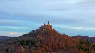 Drönare - Burg Hohenzollern med mera