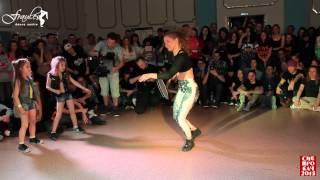 Siberian Dancehall Contest 2015 - Dancehall 2x2 - 1/2 final -  Inga & Muchacha vs. Eva & Dasha