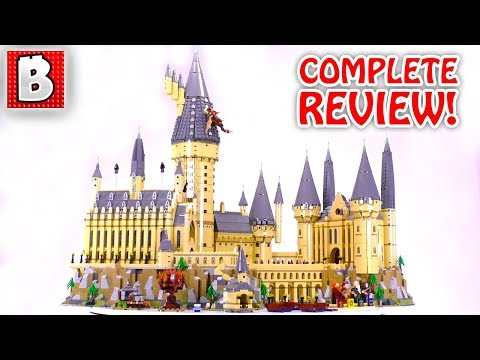 LEGO Hogwarts Castle DETAILED REVIEW!   Harry Potter Set 71043