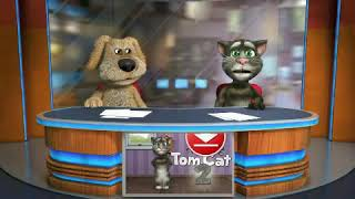 Las últimas noticias con el gato Tom y el perro Ben (Network Ten)