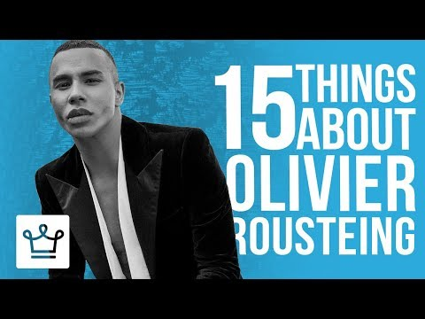 , title : '15 Things You Didn't Know About Olivier Rousteing'
