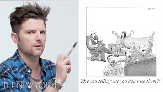 Adam Scott Enters The New Yorker Caption Contest | The New Yorker