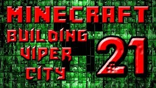preview picture of video 'Minecraft Building Viper City Part 21 - Have a Tour'