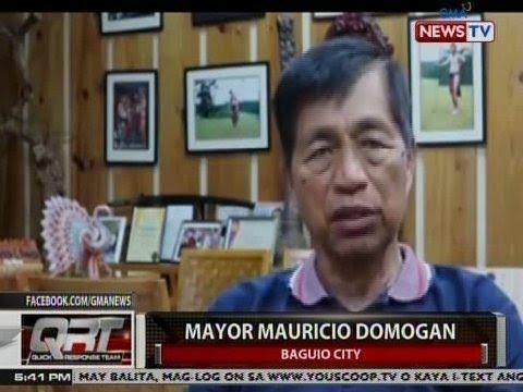 QRT: Mayor Domogan: Baguio City, 'di kailangang ipasara para sa rehabilitasyon
