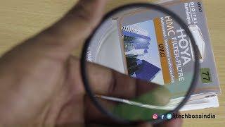 Unboxing - Hoya HMC Ultraviolet UV(C) Haze Filter | Tech Boss
