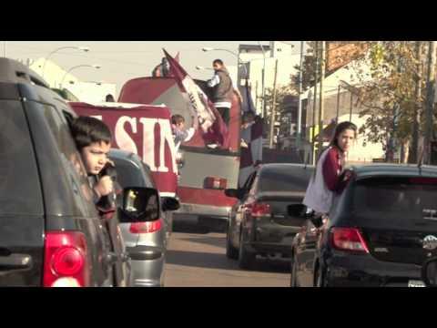 """""""Caravana Granate"""" Barra: La Barra 14 • Club: Lanús"""