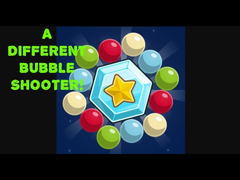 Bubble Cloud - A DIFFERENT BUBBLE SHOOTER! first play video game review!