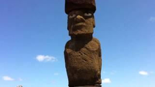 タハイ儀式村イースター島