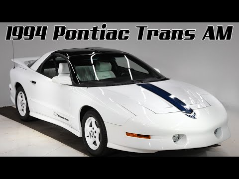 Video of '94 Firebird Trans Am - PZ5Z