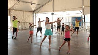 Tenda 1 tem atividades para crianças e adultos até fevereiro