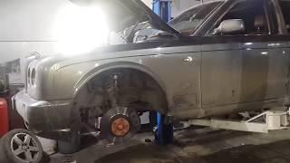 Бентли Арнаж 2004 двигатель 6,8