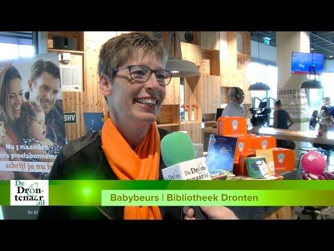 VIDEO | Babybeurs: Bibliotheek Dronten doet méér dan boeken uitlenen